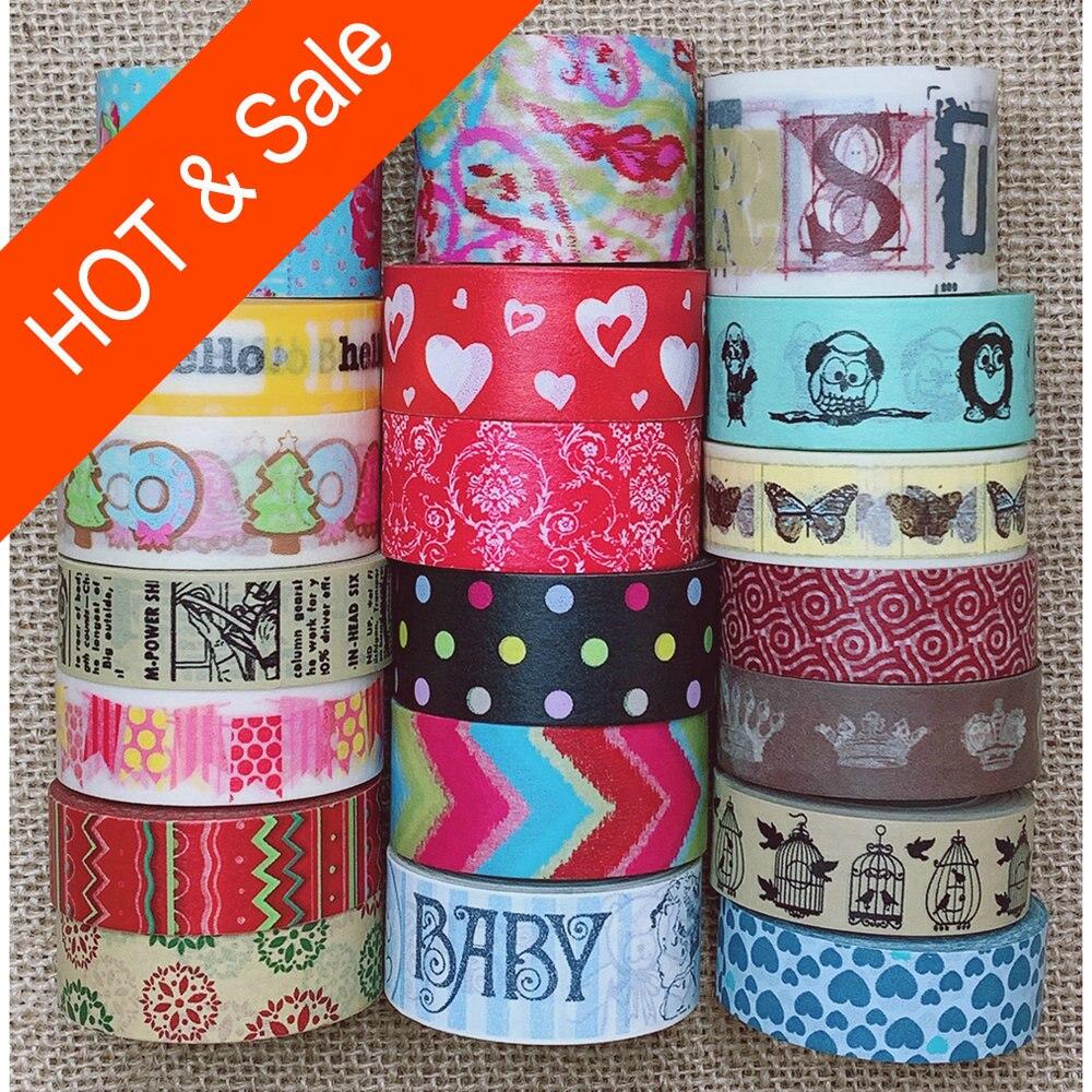 Beaucoup de gros Coupons, belle bande washi, beaucoup de modèles pour select.Washi tape, vente chaude et prix de vente, #2026-#2096