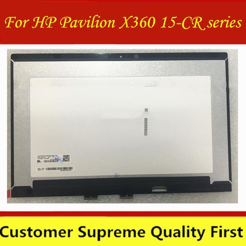 "1920*1080 para HP Pavilion X360 15-CR series 15-CR0051CL 15,6 ""FHD LCD pantalla táctil + montaje digitalizador nuevo"