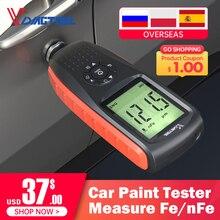 VDIAGTOOL VC200 Толщина тестер для автомобиля Краски тестер Подсветка Дисплей измерения Fe/nFe автомобильная пленка Толщина метр