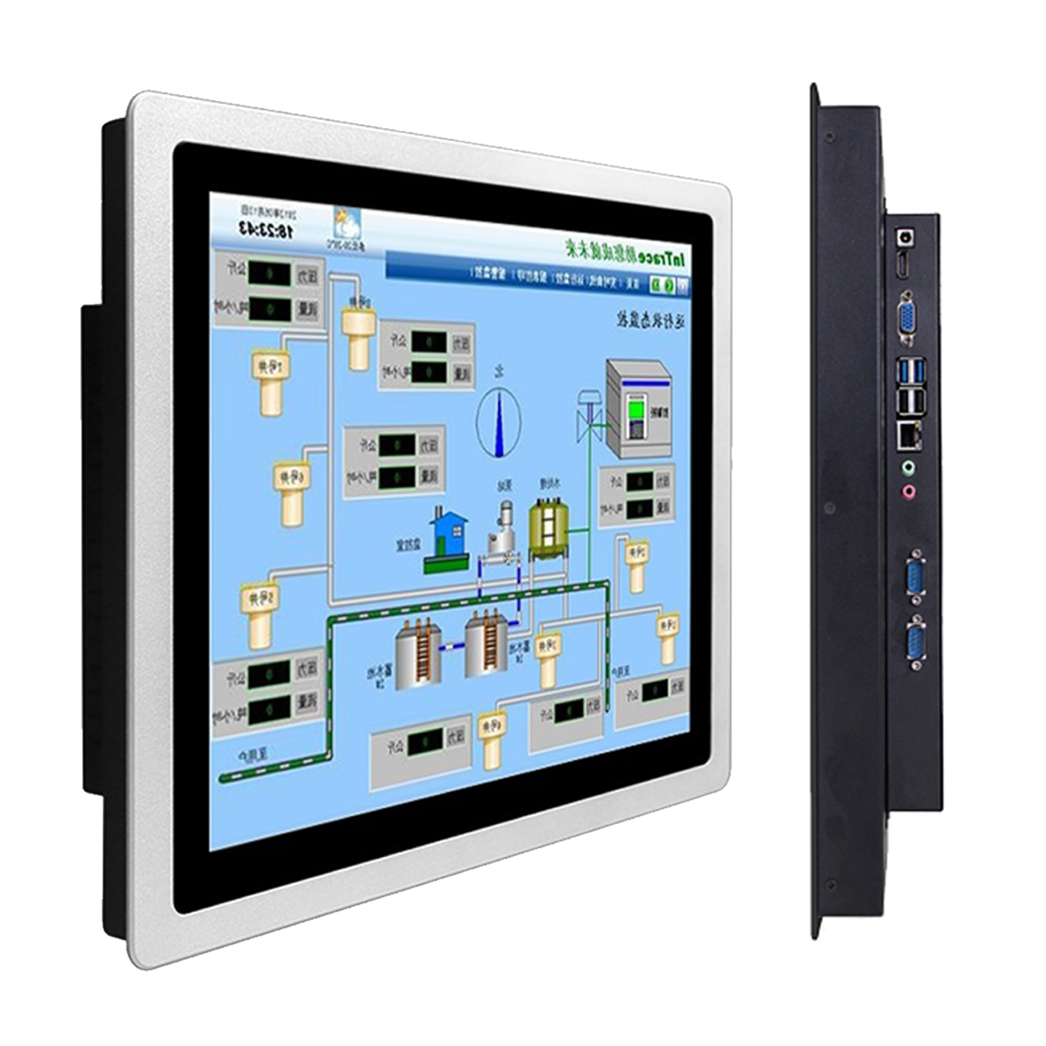 14 inch industrial all-in-one computer 15.6 inch Tablet Panel MINI PC with capacitive touch screen Windows 10 PRO