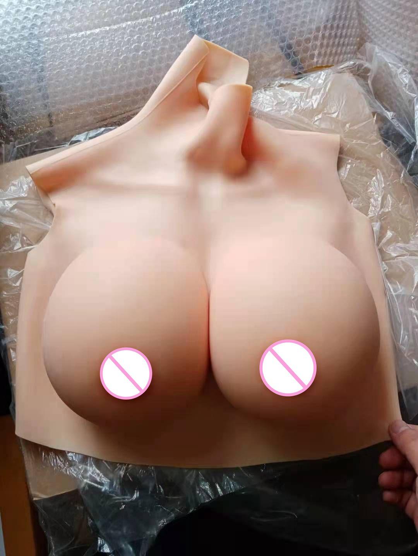 2G ترقية BCDEG ذوي الياقات العالية وهمية الاصطناعي المعتوه واقعية سيليكون الثدي أشكال كروسدرسر Shemale المتحولين جنسيا سحب الملكة