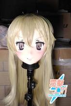 (RAIGEKI MAKS 85) poupée crosscommode en résine BJD Kigurumi Anime Kantai Collection shimakaze Cosplay masque de tête