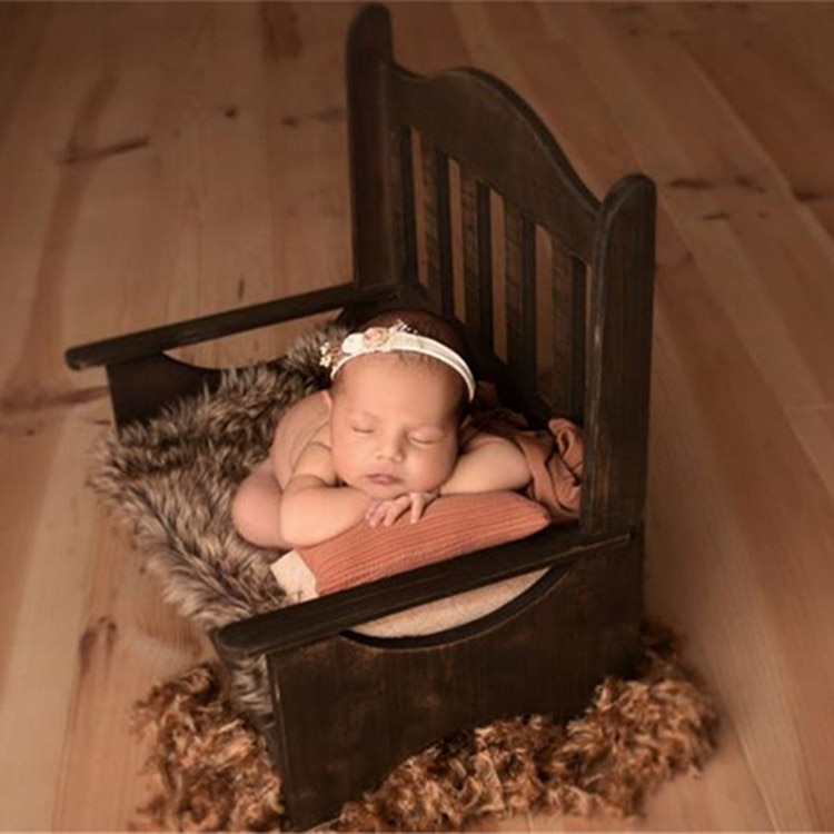 الوليد التصوير الدعائم كرسي سلة خشبية سرير التصوير الأثاث الطفل التصوير استوديو الملحقات