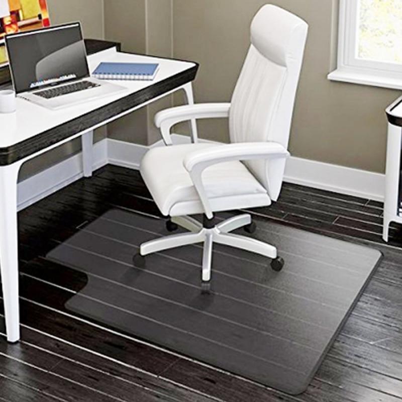 "Home Office Stuhl PVC Boden Matte Boden Schutz Transparente Rechteckigen Stuhl Matte Protector für Harte Holz 48 ""x 36""-UNS Lager"