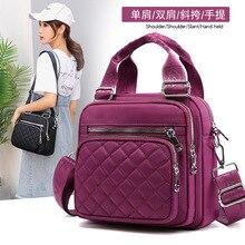 The New Women's Bags Nylon Shoulder Bag Multifunctional Shoulder Messenger Hand Bag Fashion Canvas Bag