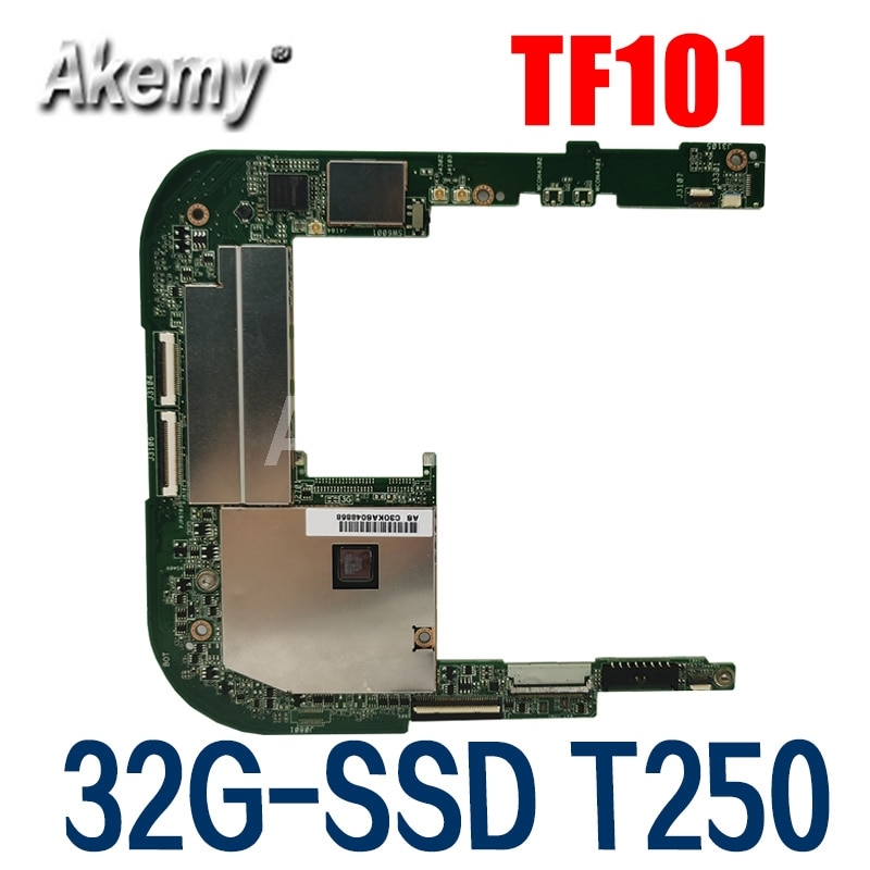 اللوحة الأم الأصلية للكمبيوتر اللوحي Asus Eee Pad TF101 TF101G EP101 32G-SSD ، تم اختبارها بالكامل