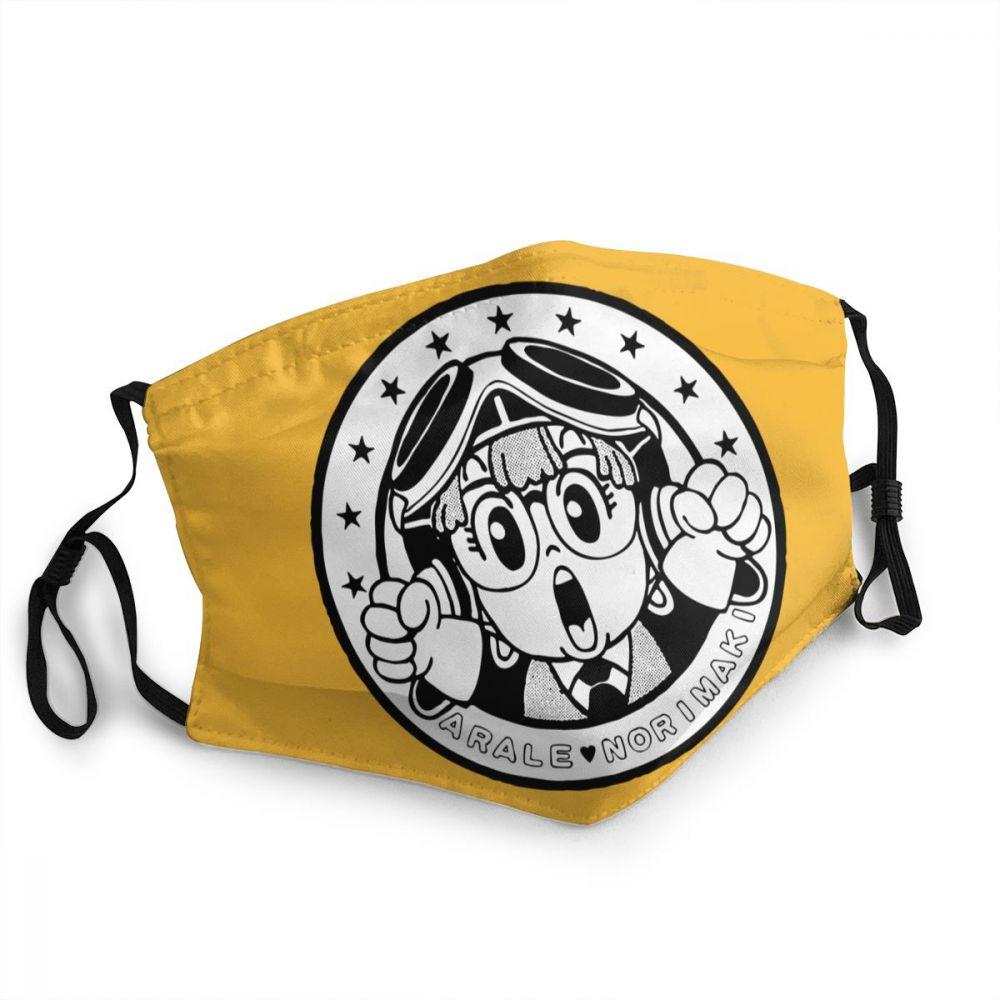 Norimaki arale dr. queda das mulheres dos homens não-máscara protetora descartável anti névoa anti proteção contra poeira capa respirador boca muffle