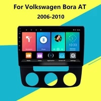 for volkswagen bora at 2006 2010 2 din car radio gps navigation multimedia player android auto stereo player