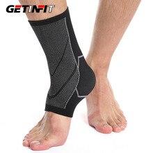 Getinfit 1PCS Sport Ankle Support Protector Compression Ankle Brace Cotton Comfort Anti Sprain Baske