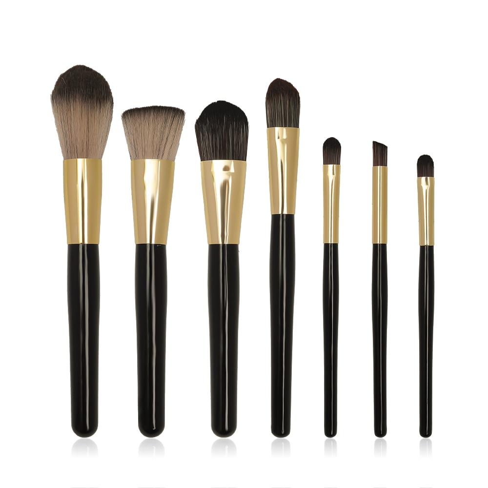 Hot Sell Black Makeup Brushes Set Eye Face Cosmetic Foundation Powder Blush Eyeshadow Kabuki Blending Make up Brush Beauty Tool недорого