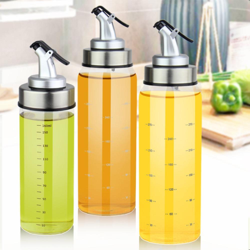 180/300/500 мл стеклянная бутылка для оливкового масла, соевый соус, уксус, банка для специй, диспенсер для приправ, спрей, бутылка для кетчупа, Cozinha