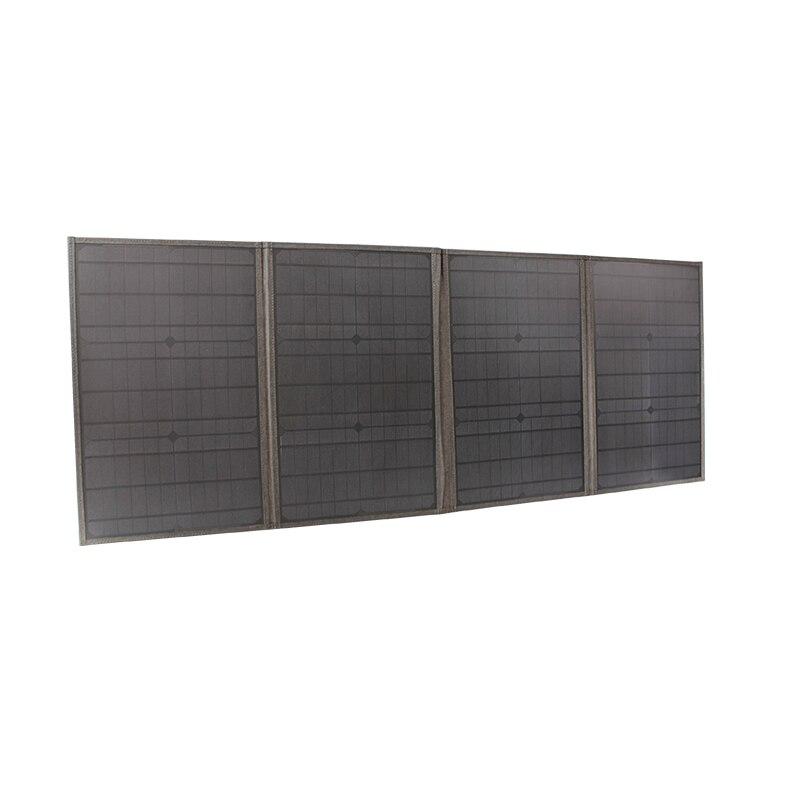 40 واط 60 واط 80 واط 100 واط 150 واط قابلة للطي لوحة طاقة شمسية مطوية حقيبة شمسية قابلة للطي المحمولة قابلة للطي لوحة طاقة شمسية شاحن