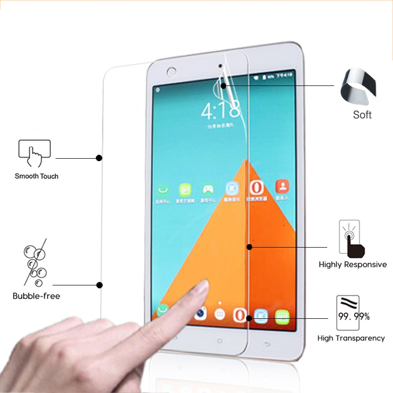 New High clear Glossy coverFor Hisense E81 8.0
