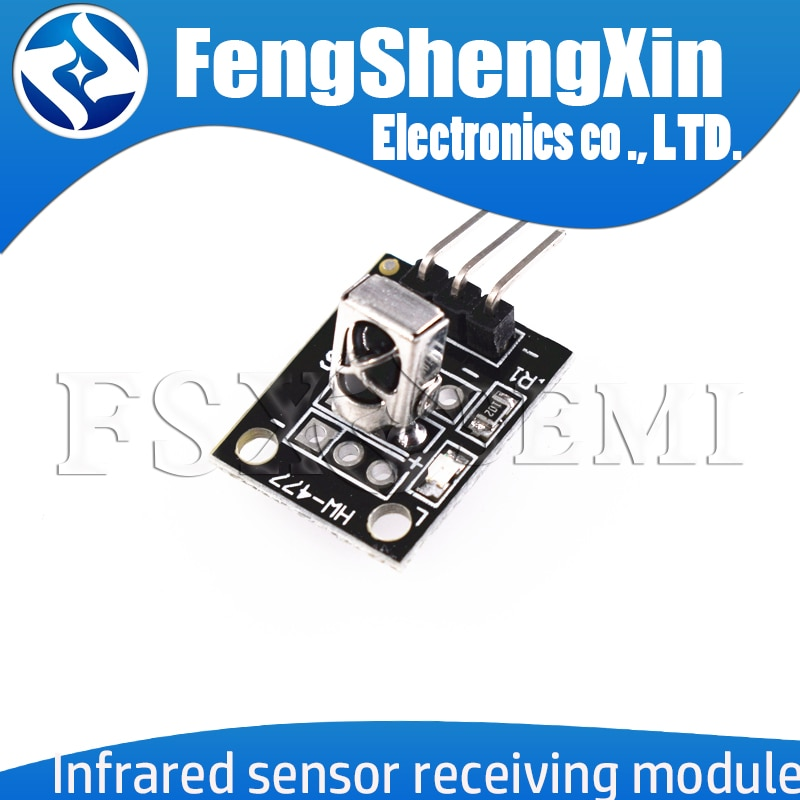 KY-022 Infrared IR Sensor Receiver Module Accessories For Arduino 6.4 x 7.4 x 5.1mm