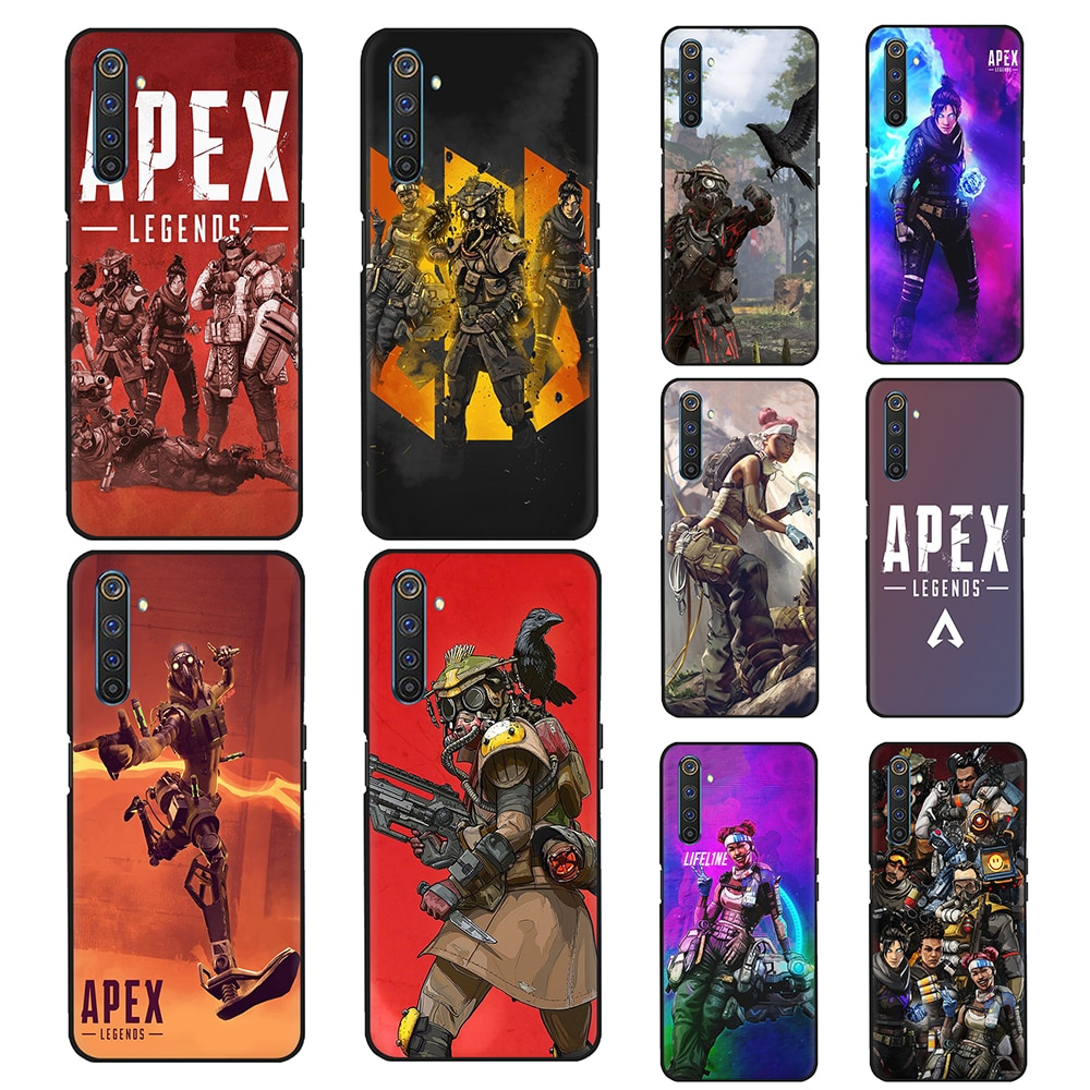 Apex Legends Silicone Caixa Do Telefone para OPPO A8 A12 A31 A52 A72 A91 A92 A92S F15 Encontrar X2 Pro Reyno C2 C3 6 Pro