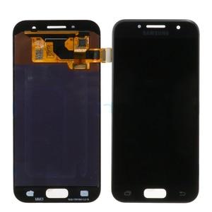 Image 2 - Оригинальный 4,7 amoled ЖК дисплей для Samsung Galaxy A3 2017 A320 A320F, ЖК дисплей, сенсорный экран, дигитайзер, для сборки, запасные части