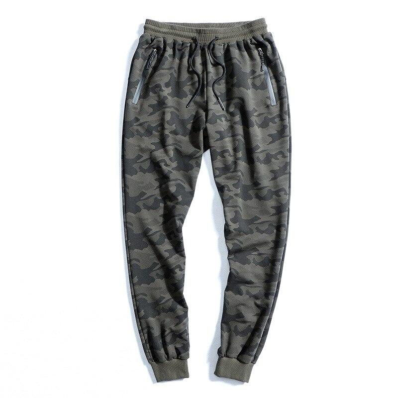 Novo 2020 calças masculinas 8xl 9xl 10xl cintura elástica plus size moletom solto casual grande tamanho camuflagem corredores roupas masculinas