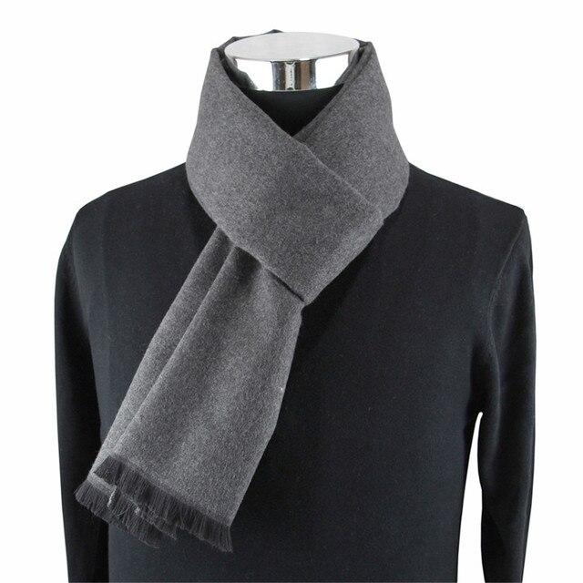 2020 New Fashion Design Men Scarves Winter Men's Cashmere Casual Scarf High Quality Luxury Brand Warm Neckercheif Model Scarves