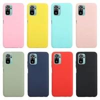 note10 cover on for xiaomi redmi note 10 4g 10s case soft silicone phone case for xiomi mi note 10 pro 10pro max case fundas