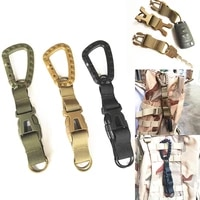 totrait army military tactical backpack lock latch mutifunctional outdoor hunting camping hiking buckle carabiner accessories