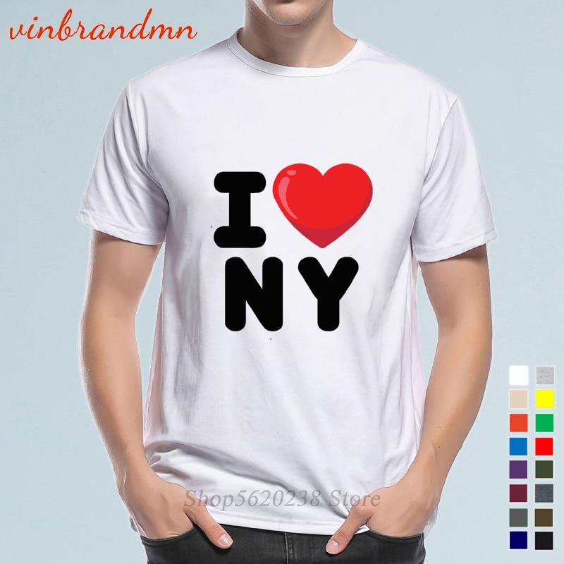 Nuevas llegadas I Love NY Nueva York impreso corazón nueva Alta Calidad...