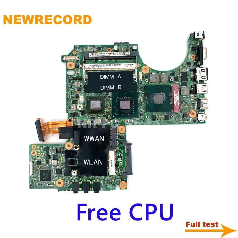 NEWRECORD CN-0PU073 CN-0K984J CN-0D057F CN-0P083J For Dell XPS M1330 laptop motherboard 965PM DDR2 8600M update GPU free CPU