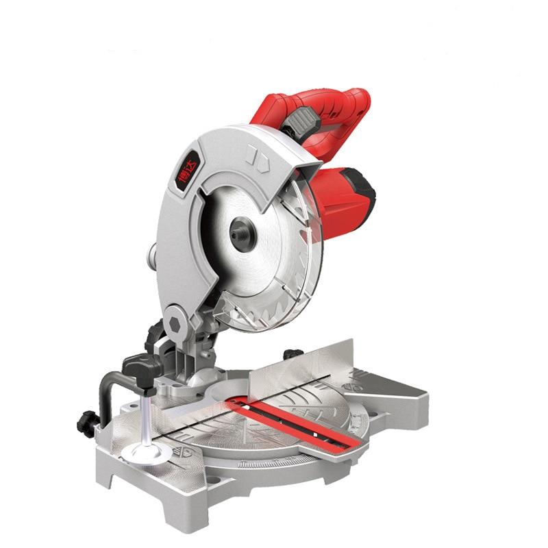 7 Inch Aluminum Sawing Machine Wood Cutting Machine Portable Miter Saw Multifunction Sawing Machine Multi-angle Cutting Machine