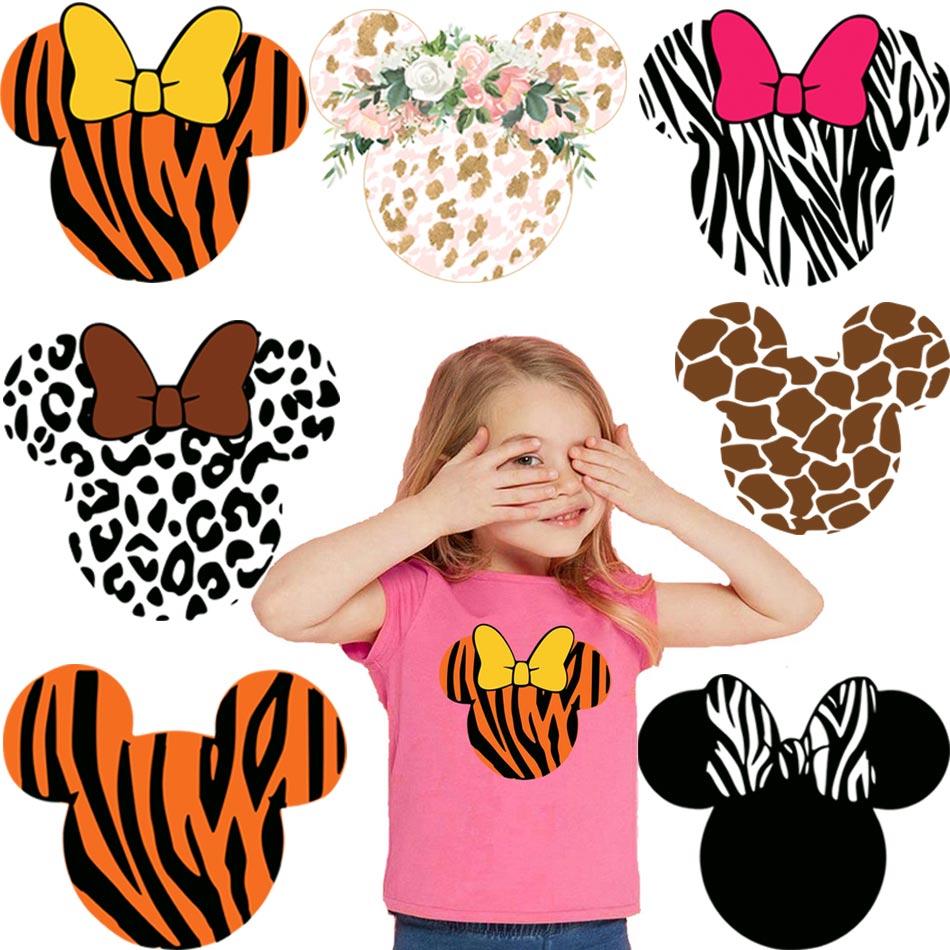 Красивая мультяшная термонаклейка для одежды, стирающаяся термонаклейка «сделай сам» на футболку, милый дизайн, нашивки для детской одежды...
