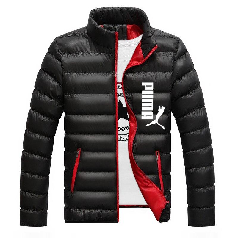 2021 novo casaco quente frio tamanho grande europa e américa roupas casuais masculino jaqueta com zíper