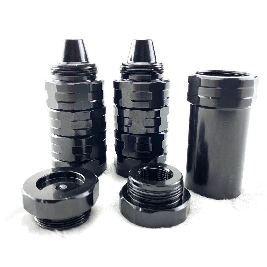 مصيدة مذيب معيارية من الفولاذ المقاوم للصدأ ، 6.5 بوصة ، L ، 1.1 بوصة ، OD ، 8 مخاريط لولبية ، مرشح وقود MST 5/8-24 ، Napa 4003 Wix24003