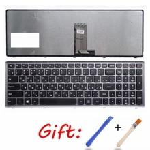 RU czarny nowy laptop klawiatura do lenovo U510 U510-IFI z710 NSK-BF1SU 0KN0-B62RU13 9Z.N8RSU.10R V-136520MS1 rosyjski