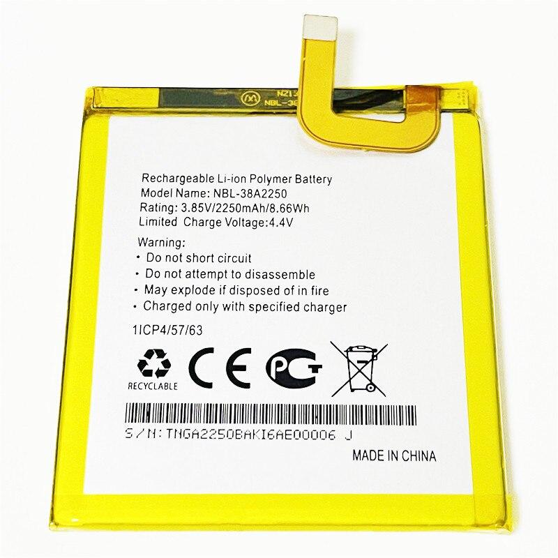 3.85v 2250mah NBL-38A2250 para tp-link neffos x1 tp902a tp902c bateria