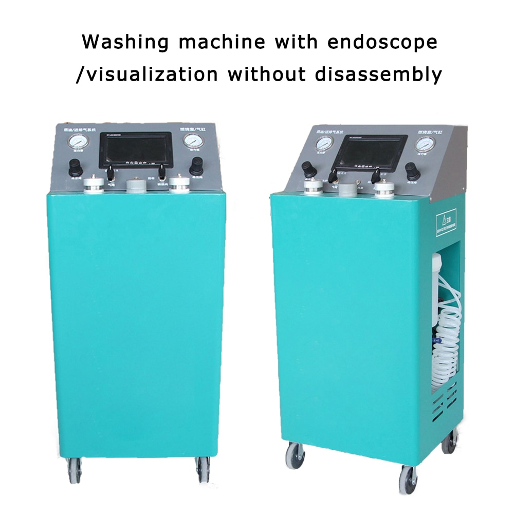 ZL-007 220V Car Engine Gas Cylinder Cleaning Machine Visual Free Cleaning Engine Cleaning Machine Used To Clean The Fuel System