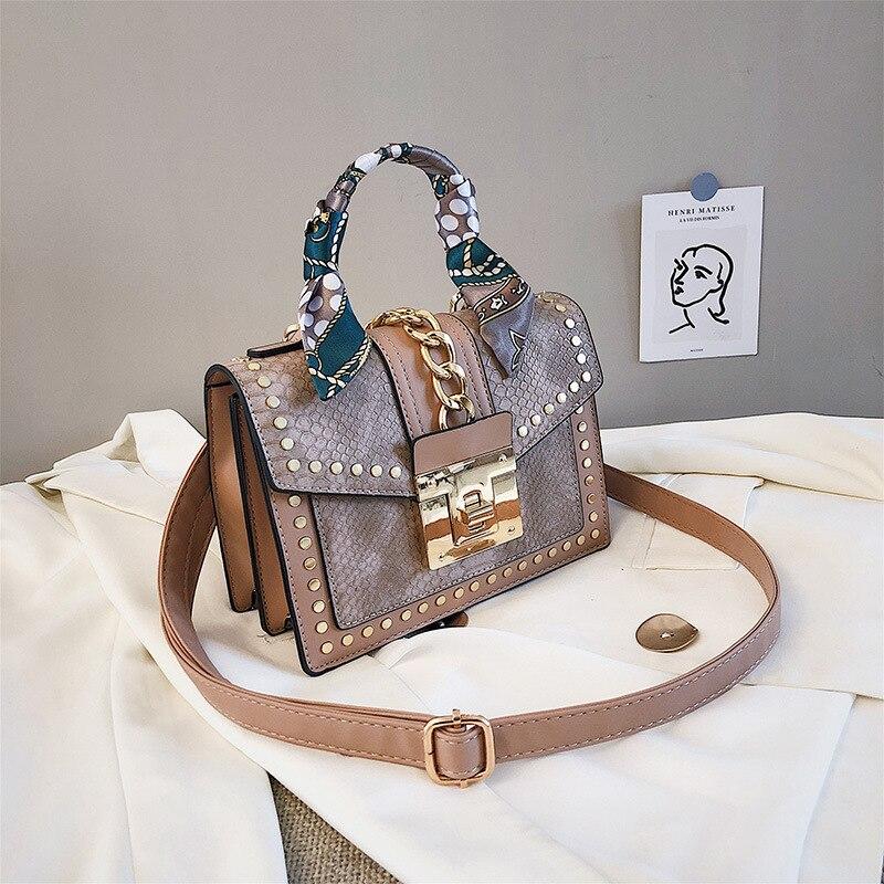 Saco do mensageiro selvagem de couro feminino moda rhombic corrente borla sacos de órgão designer famosa marca de luxo bolsas femininas sacos