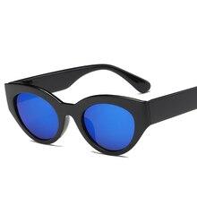 2020 New Retro Cat Eye Sunglasses for Feamale Brand Designer Sunglasses Black Sun Glasses Women UV40