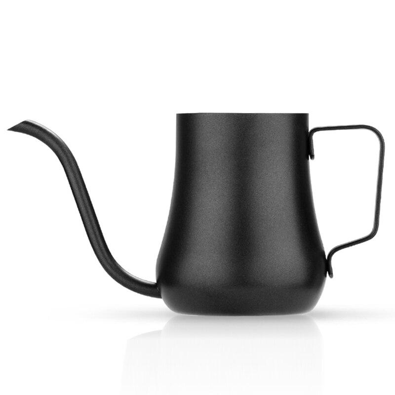 Acampamento de aço inoxidável chaleira pote café espresso gooseneck cafeteira portátil italiana coffeeware ea6kfh