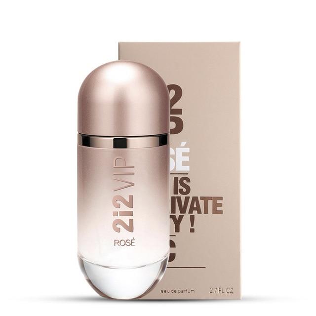 80ML Women Perfume Sexy Female Fragrance Spray Deodorant Fashion Lady Parfum Glass Bottle Flower Long Lasting Deodorization