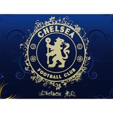 5D bricolage diamant peinture britannique Chelsea Football équipe Logo plein carré diamant broderie strass point de croix peinture décor