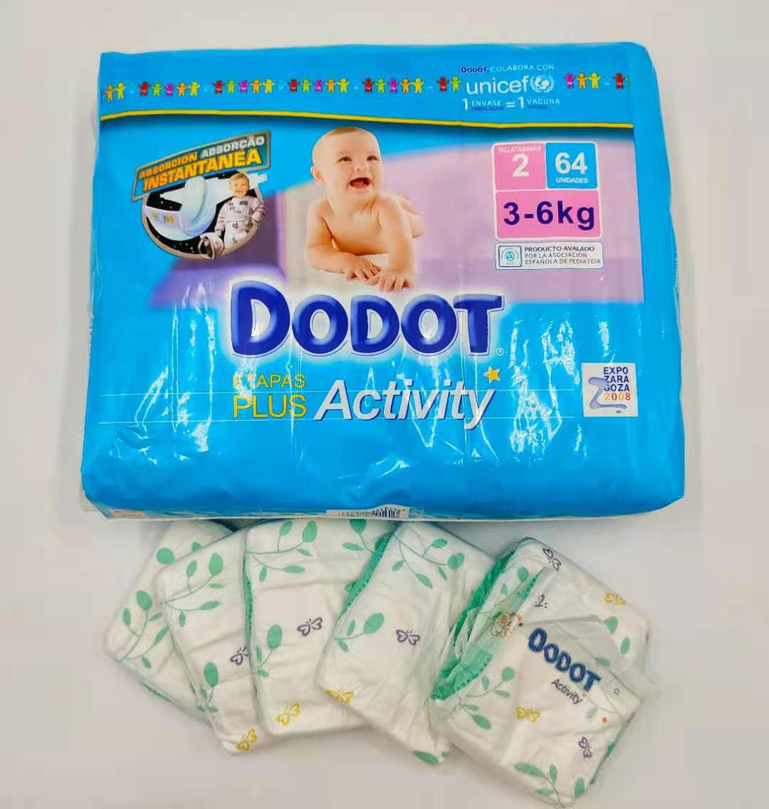China Cheap Good Quality Baby Diapers Disposable Baby Diapers Super Soft Breathable