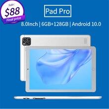 Smartphone Tablet 6GB RAM 128GB ROM SIM Tablet Wifi+4G Touch Screen Tablet 8.0inch Tablet Digital An