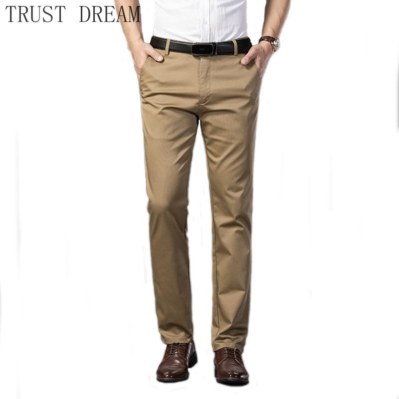 Новинка, мужские повседневные штаны, прямые, однотонные, 6 цветов, мужской красивый костюм, вечерние штаны, Повседневная Удобная одежда для о...