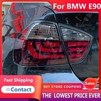 hana for bmw e90 2005 2012 318i 320i 323i 325i 330i tail lights led fog lights drl daytime running lights car accessories