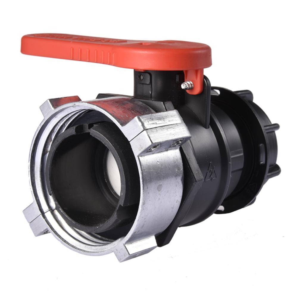 75 мм 1000L воды ibc-контейнер контейнер шаровой клапан химические клапан насоса к кислотам и щелочам устойчивы DN50 тонн насадка Barrel Ball клапан