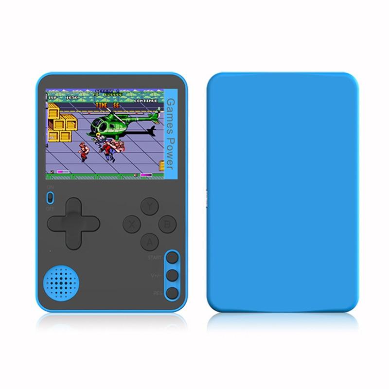 Игровая консоль со встроенными 500 классическими 8-битными играми, ретро-консоль для видеоигр, экран 2,4 дюйма, фотографии детей