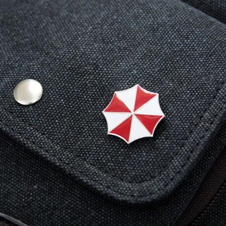 Biohazard Resident Umbrella Badge Brooch Pin High Quality