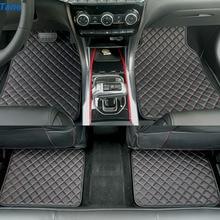 Tapetes de cuero de coche para jeep grand cheroki 1999 2004 2005 2014 renegade patriot compass 2007 wj accesorios alfombra