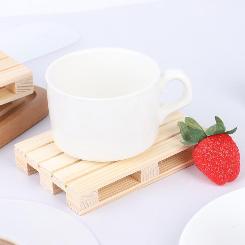 Новинка, деревянные поддоны для напитков, подставки для чашек, подставки под горшки