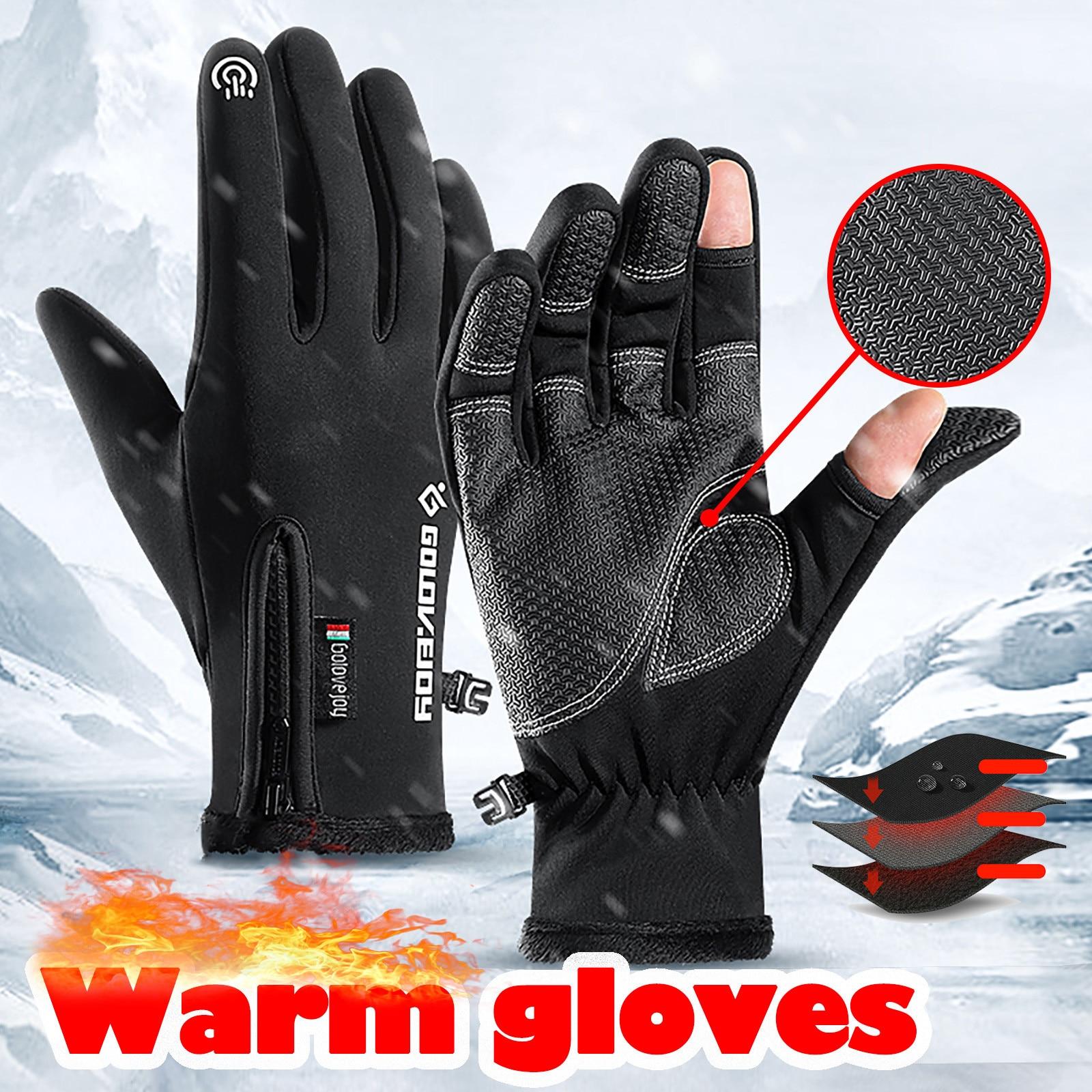 перчатки Adult Thicken Plus velvet Padded Gloves снуд женский Windproof Touch-screen Outdoor шапка комплект и шарф