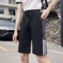 Sports Shorts Women's Summer Loose Ins Fashionable Student BF Korean Style Outer Wear Running Capris