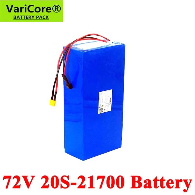 VariCore-بطارية 20S للسكوتر الكهربائي ، 74V ، 25ah ، 40Ah ، 50Ah ، 2500W ، 21700 ، 72V ، مع حماية BMS